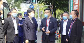 江阴市副市长、市卫健委主任一行莅临江阴红房子妇产医院检查指导